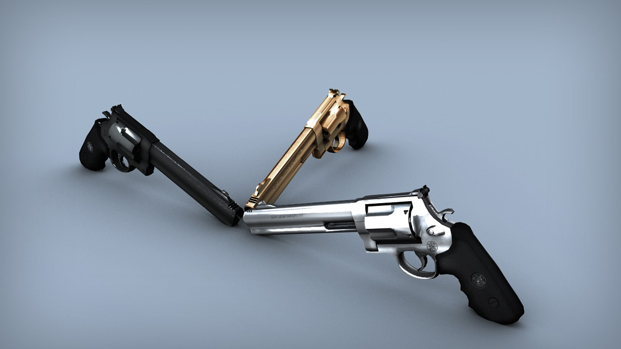 Smith & Wesson 3 Textures