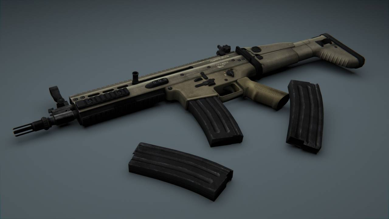 SCAR MW3 for AUG CSS