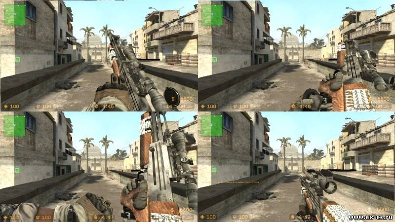 Sg550 из Call of Duty 7 [ COD 7 ]